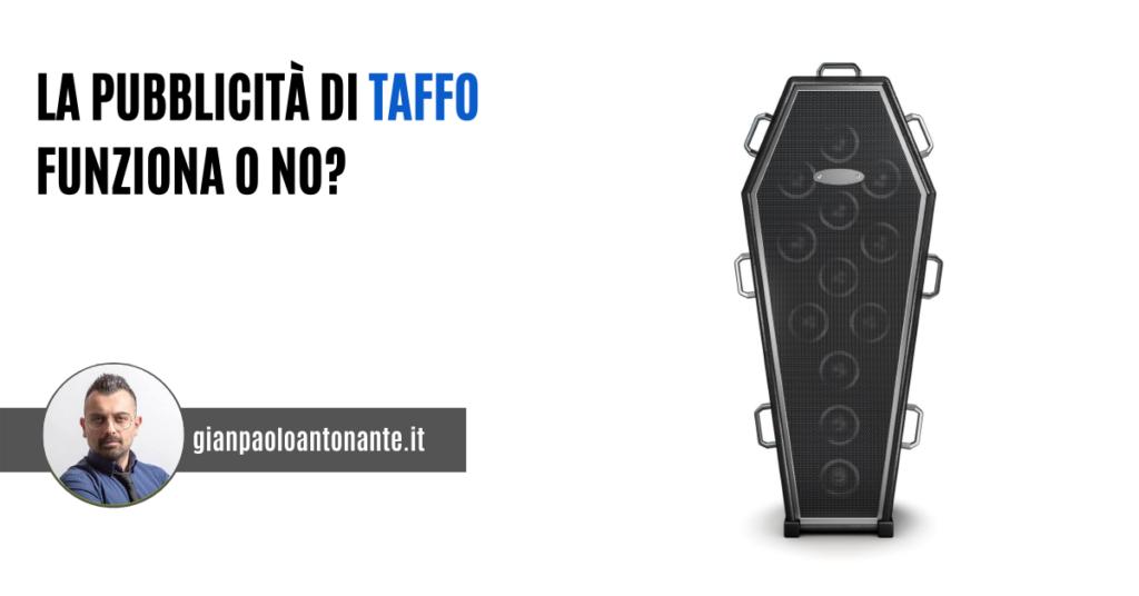 Pubblicità Taffo