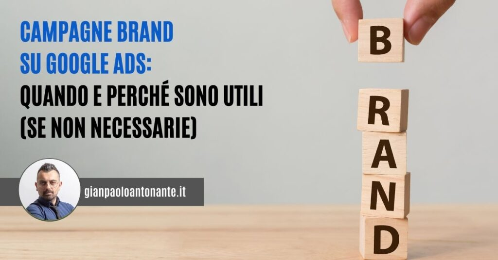 Campagne Brand su Google Ads